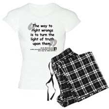Wells Truth Quote Pajamas