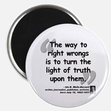 Wells Truth Quote Magnet