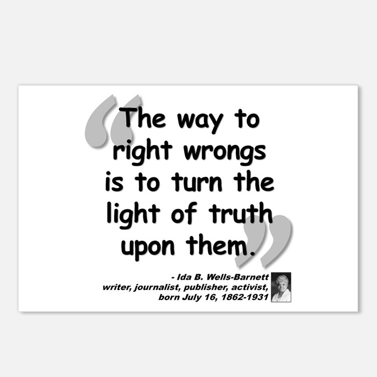 Wells Truth Quote Postcards (Package of 8)