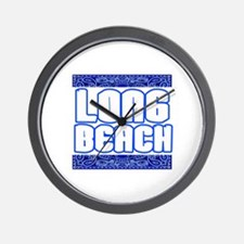 Long Beach,Ca -- T-Shirt Wall Clock