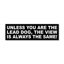 Cute Lead dog Car Magnet 10 x 3