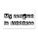 """Kindness 12"""" x 20"""""""