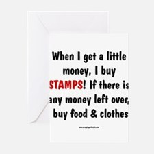 I Buy Stamps Greeting Cards (Pk of 10)