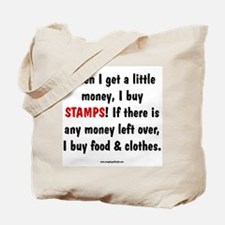 I Buy Stamps Tote Bag