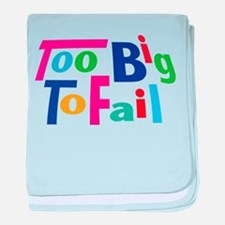 Too Big to Fail Bailout baby blanket