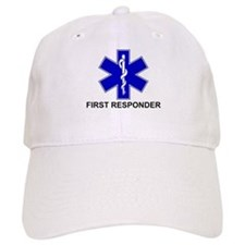 BSL - FIRST RESPONDER Baseball Baseball Cap