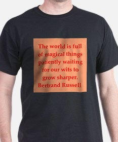 Bertrand Russell quotes T-Shirt