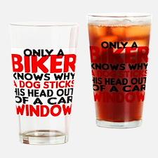 Only a Biker Drinking Glass