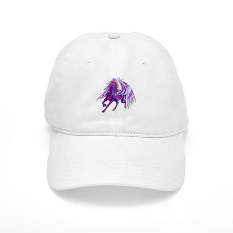 Purple Unicorn Tattoo Cap