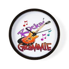 ROCKIN' GRAMMIE Wall Clock