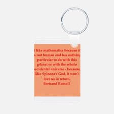 Bertrand Russell quotes Keychains