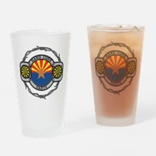 Arizona Darts Drinking Glass