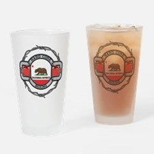 California Boxing Drinking Glass