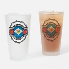 Delaware Boxing Drinking Glass