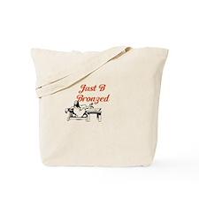 Just B Bronzed Tote Bag
