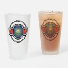 New Hampshire Boxing Drinking Glass