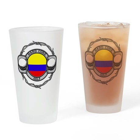 Colombia Golf Drinking Glass