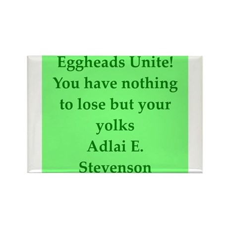 adlai stevenson quote Rectangle Magnet (10 pack)