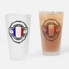 France Rugby Drinking Glass