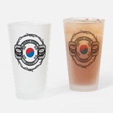 Korean Hockey Drinking Glass