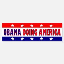 Obama Doing America Bumper Bumper Bumper Sticker