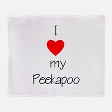 I love my Peekapoo Throw Blanket