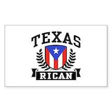 Texas Rican Decal