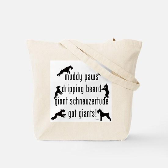 got giants Tote Bag