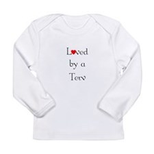 Loved by a Terv <br> Long Sleeve Infant T-Shirt