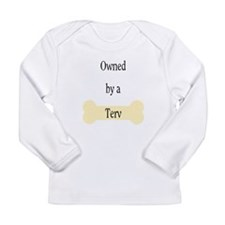 Owned by a Terv Long Sleeve Infant T-Shirt