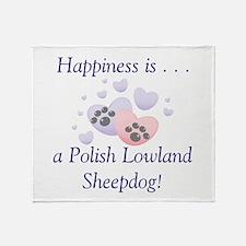 Happiness is...a Polish Lowla Throw Blanket