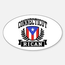 Connecticut Rican Decal