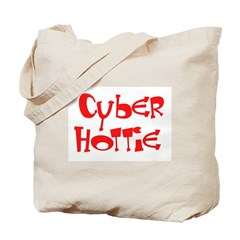 Cyber Hottie Tote Bag