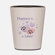 Happiness is...a Saluki Shot Glass