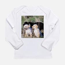 Labrador Puppies Long Sleeve Infant T-Shirt