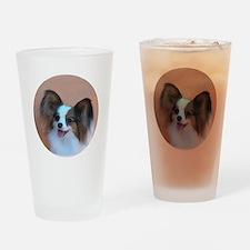Sable Papillon Head Drinking Glass