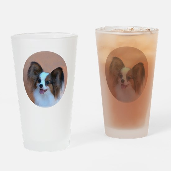Sable Papillon Head Drinking Glass