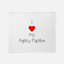 I love my Agility Papillon Throw Blanket