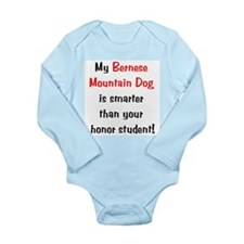 My Bernese Mountain Dog is sm Long Sleeve Infant B