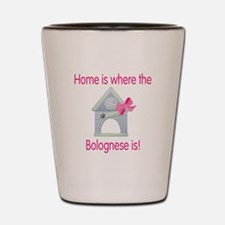 Home is where the Bolognese i Shot Glass