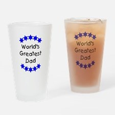 World's Greatest Dad Drinking Glass