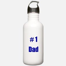 Funny 1 dad Water Bottle