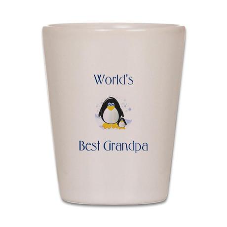 World's Best Grandpa Shot Glass