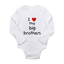 I love big brothers Baby Outfits