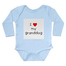 I love my granddog Long Sleeve Infant Bodysuit