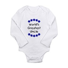 World's Greatest Uncle Long Sleeve Infant Bodysuit