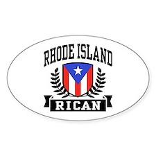 Rhode Island Rican Decal