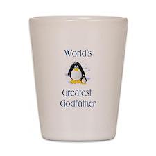 World's Greatest Godfather (p Shot Glass
