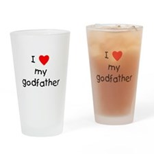 I love my godfather Drinking Glass