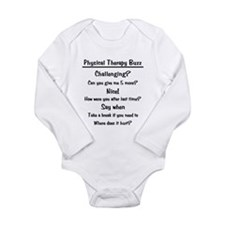 Physical Therapy Buzz Long Sleeve Infant Bodysuit